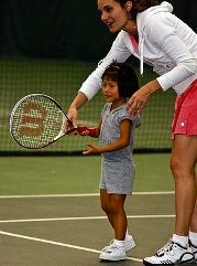 children tennis lessons
